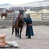 Buryat horseman.