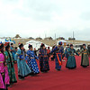 Dancing in national dress. (Buryatia, Russia)