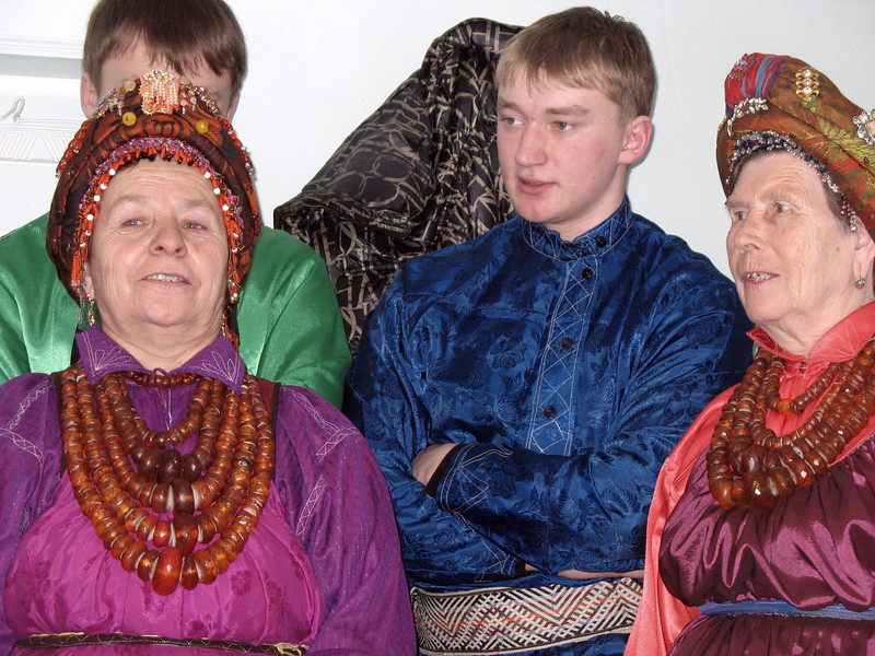 Old Believers in traditional dress.