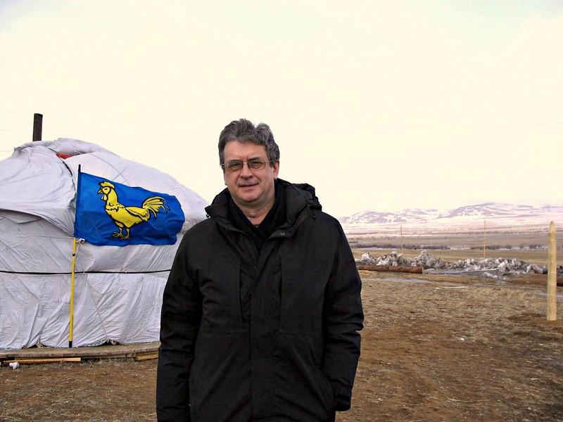 On the Buryatian Steppe.