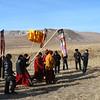 Steppe procession. (Buryatia, Russia)