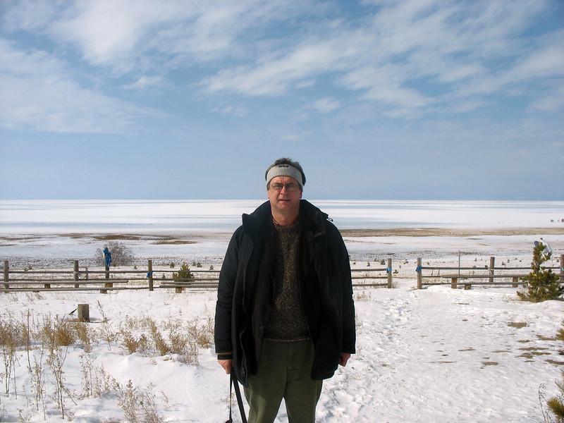 Baikal winter.