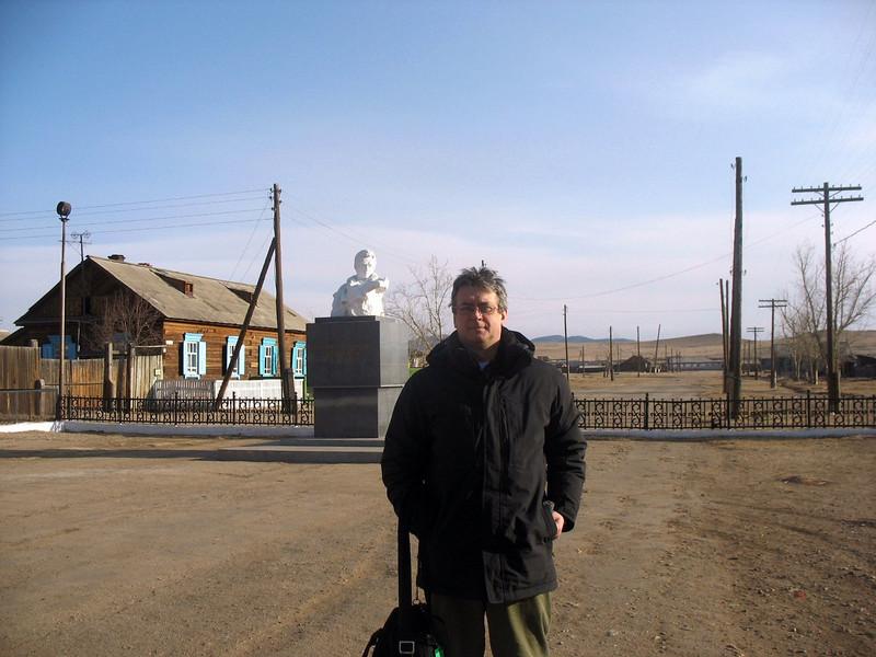 Monument to Decembrists. (Buryatia, Russia)