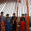 Inside yurt. (Buryatia, Russia)