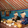 Tea time with the elders. (Buryatia, Russia)