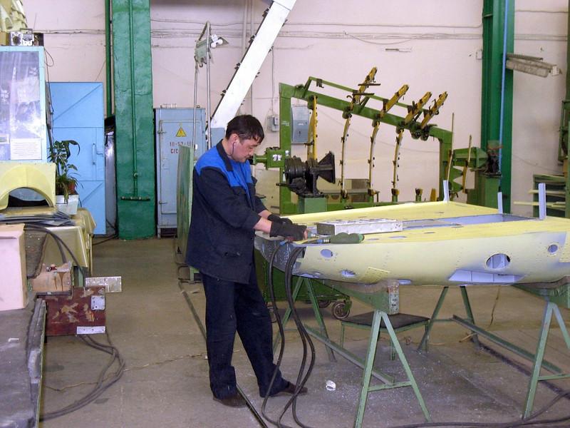 Ulan-Ude Aviation Plant.