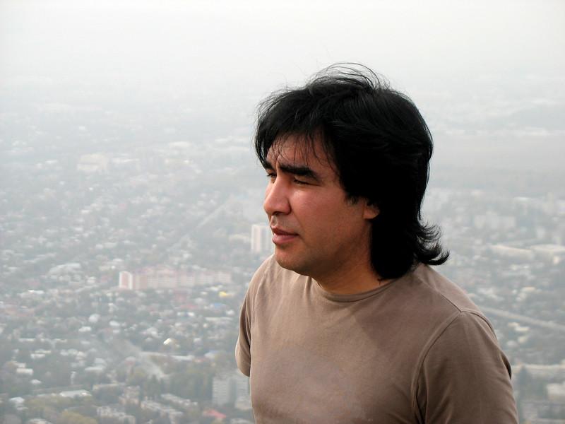 RT guest, Damir Yakubov, Nogai rock composer & musician.