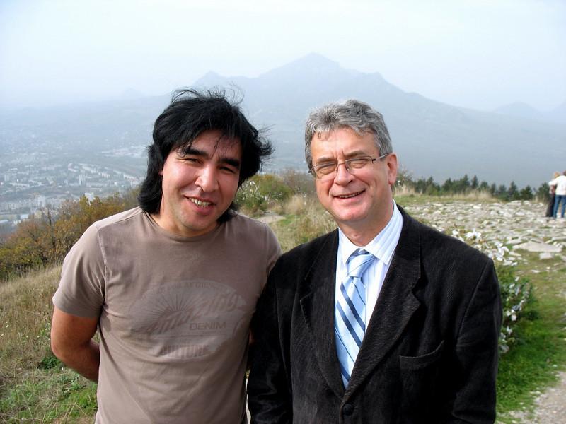 With Damir Yakubov.