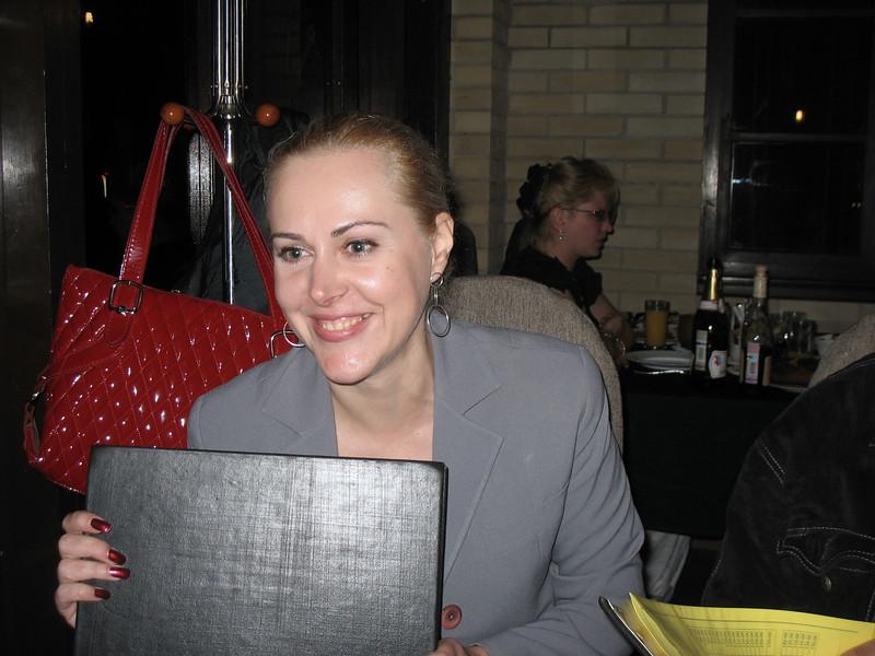Natalia Bournos, press secretary, Caucasian Mineral Waters.