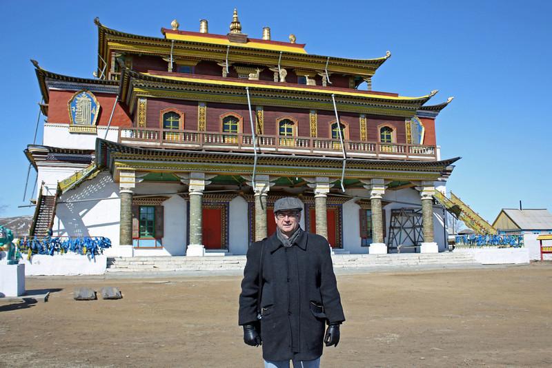 Rustem at the Tsugol Datsan.