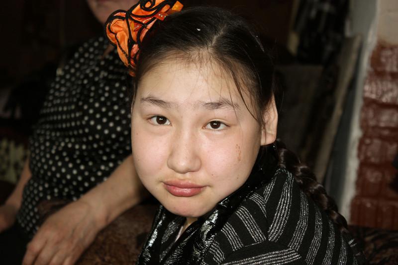 Galina's grand-daughter has cerebral palsy.