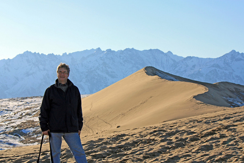В Чарской пустыне.