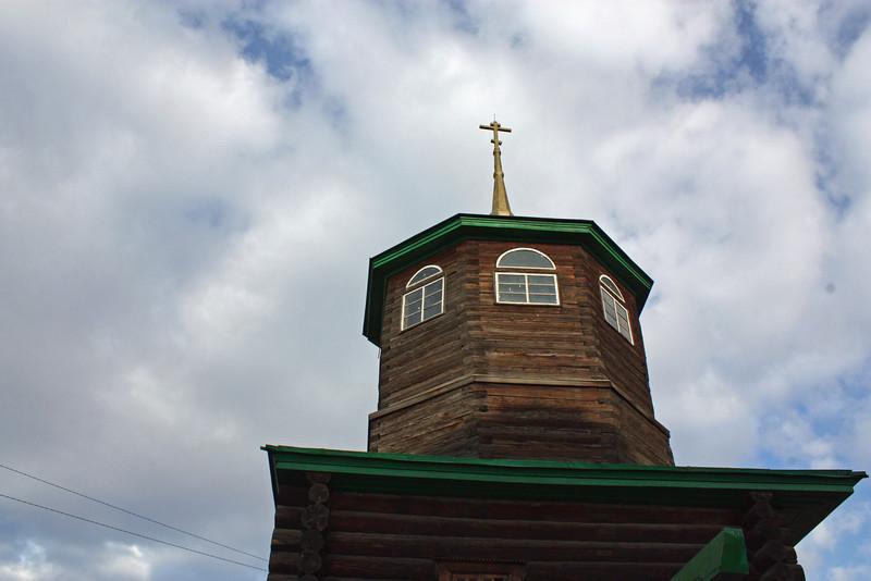 Чита. Церковь, где венчались декабристы.