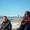Wafaa & Staci enjoying  a beautiful sunny day in a stunning place.