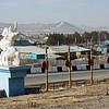 У въезда в Агинское. Буддистский комплекс