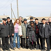 RT crew with Buryat farmers.