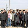 RT crew with Buryat farmers.