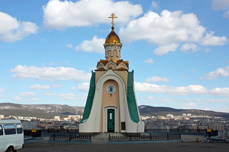 Hilltop chapel. (Chita)