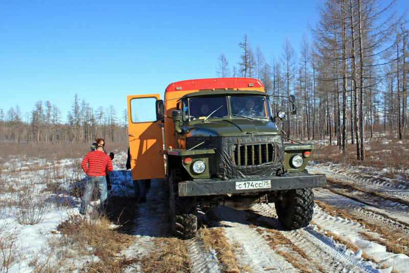 Heavy traction's needed for these 'roads'.