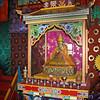 Altar at the Tsugol Datsan.