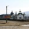 Aginskoye - Агинское. Въезд в посёлок