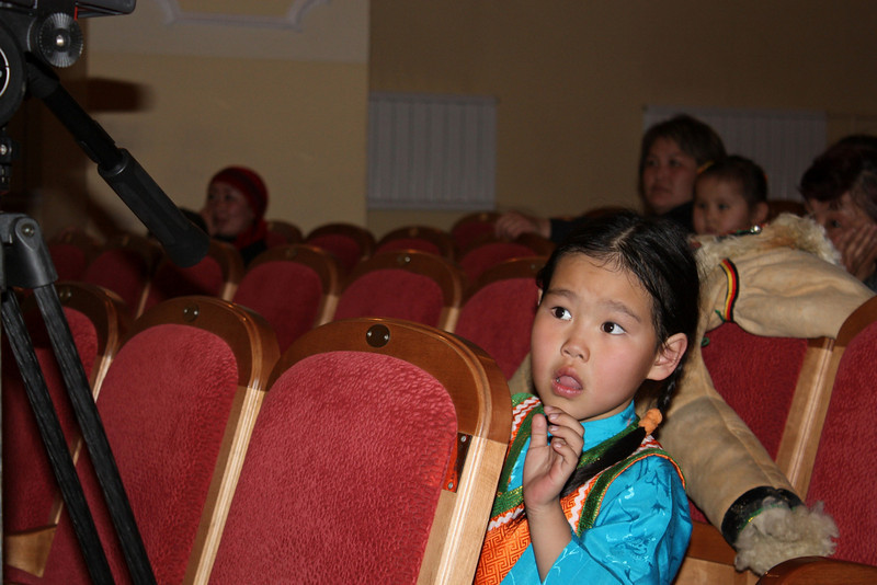 In the audience....