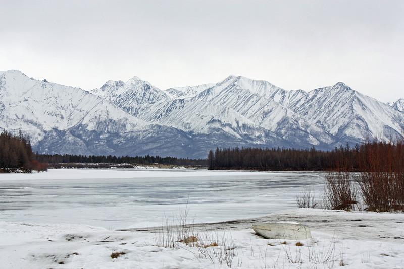 Area surrounding the Evenki village of Chapo-Ologo. (Kalar Region, Siberia).