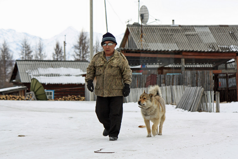 Animals play an important role in Evenki lives.