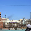 Lenin still stands in the center of Chita.
