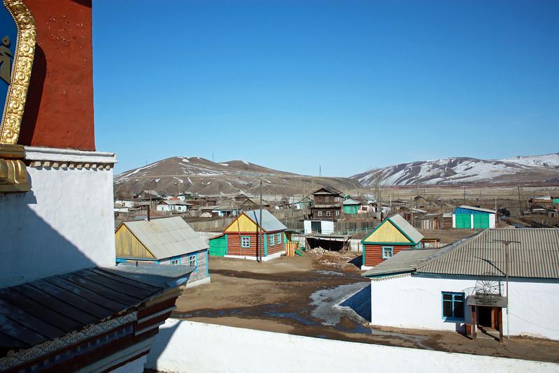 The village outside the Tsugol Datsan.