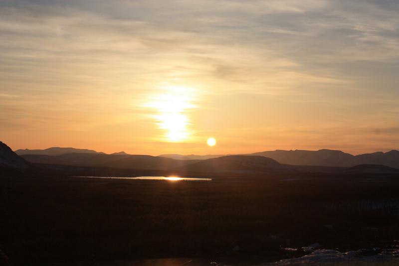 Udokan sunset.