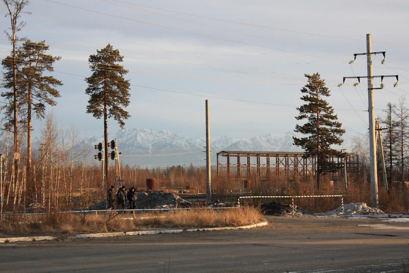 The Baikal-Amur Railway in Chara.