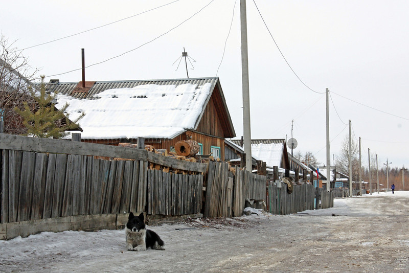 Evenki village of Chapo-Ologo in the Kalar Region.