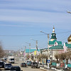 The streets of Aginsk.