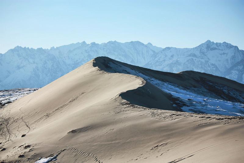Chara desert dunes.