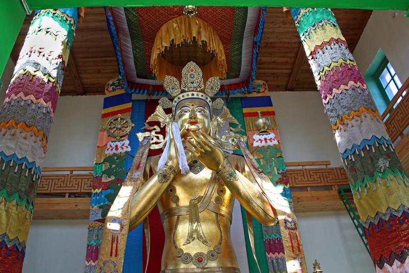 Buddha at the Tsugol Datsan.