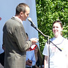 Михаил Игнатьев, Глава республики Чувашия поощряет инициативную молодёжь.
