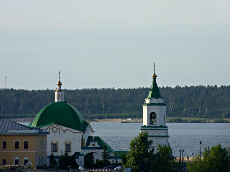 Мужской монастырь в Чебоксарах.