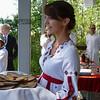 Чуваши - очень хлебосольный народ. A traditional offering of bread & salt.