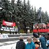 November 7th Communist demonstration.