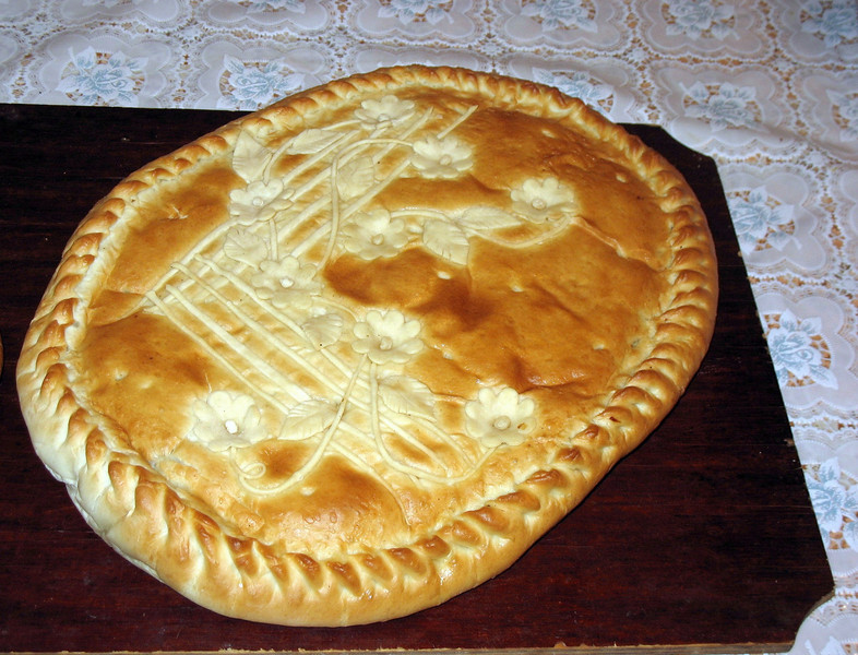 Traditional Russian bread.