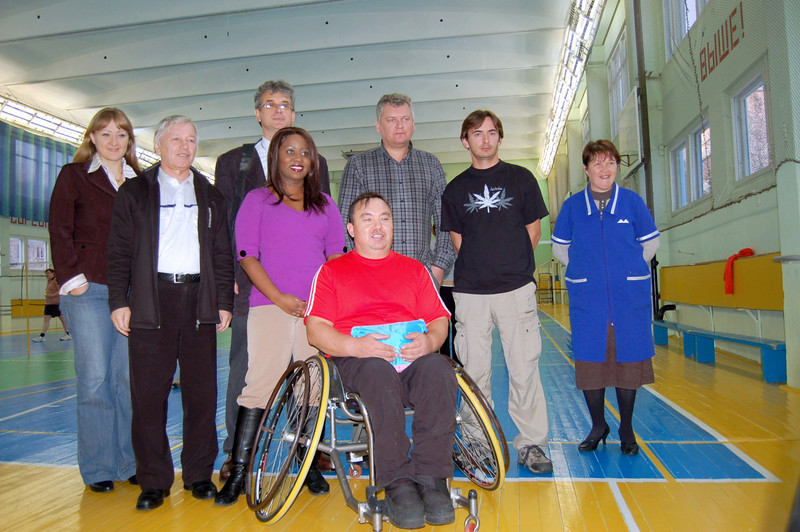 Disabled Cheboksarian Badminton Champion - Silver Medal in the Euro Cup.