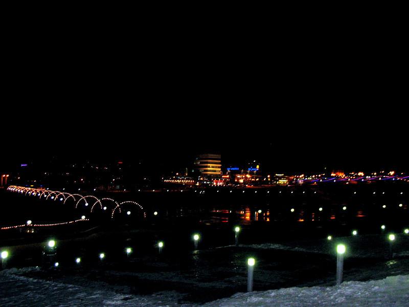 Cheboksary at night.