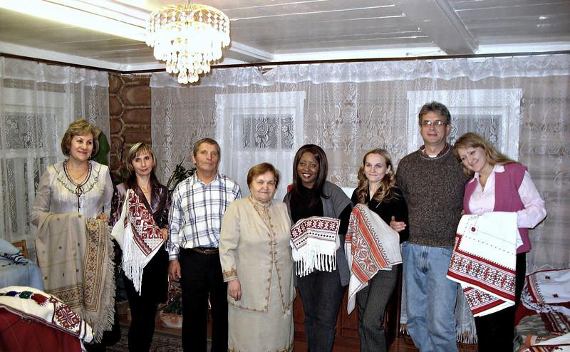 RT crew with Maria Simakova & her team.