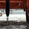 Tractor cracking an egg. (PromTractor - Cheboksary, Chuvashia)