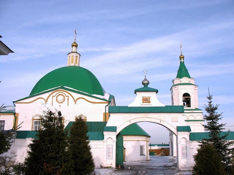 Trinity men's monastery. (Cheboksary)