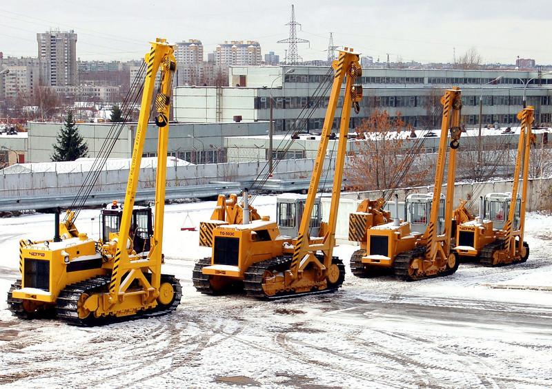 PromTractor factory yard. (Cheboksary)