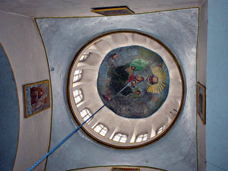 Toguyevo village church dome.