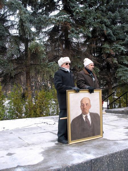 Remembering Lenin.