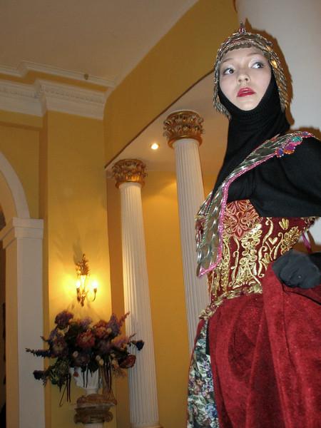 Model - Dadiani House of Fashion.